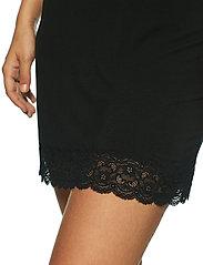 Lady Avenue - Bamboo Lace Slip - bodies & slips - black - 6