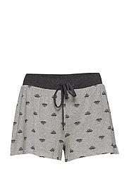 Bamboo Shorts - ASH FLORAL MELANGE