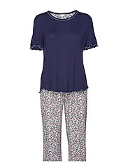 Bamboo Short-sleeve PJ with pirate pants - ADMIRAL