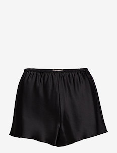 Pure Silk - French knickers - szorty - black