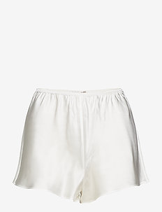 Pure Silk - French knickers - shorts - off-white