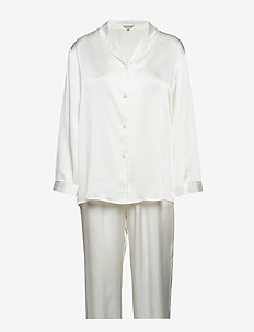 Pure Silk - Basic Pyjamas - pyjama''s - off-white