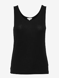 Basic Bamboo Tank top - BLACK