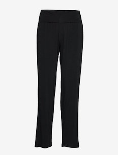 Bamboo Yoga Pants - hosen - black