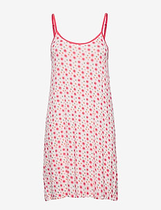 Bamboo Spaghetti Nightslip - chemises de nuit - floral rose