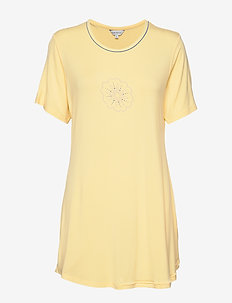 Bamboo Short-sleeve Nightdress - t-shirts - sun