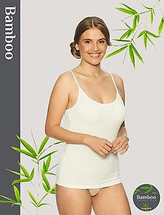 Basic Bamboo Camisole - hauts sans manches - off-white