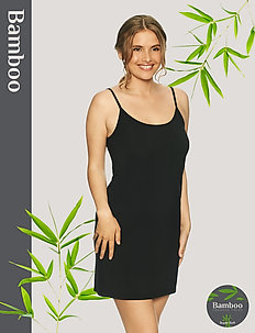 Basic Bamboo Slip - bodies & slips - black
