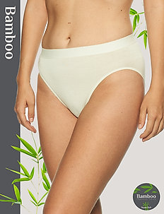 Basic Bamboo Tai brief - slips - off-white