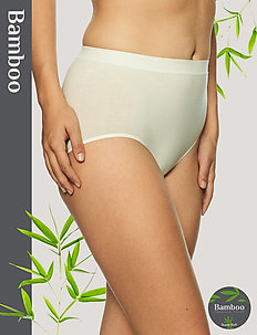 Basic Bamboo Midi brief - culotte taille basse - off-white