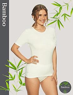 Bamboo T-shirt - t-shirts - off-white