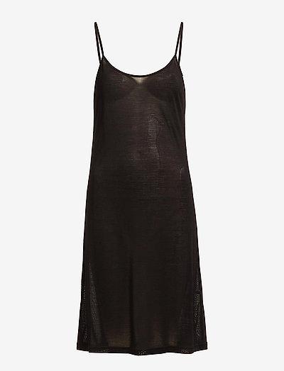 Silk Jersey - Slip - nachtjurken - black