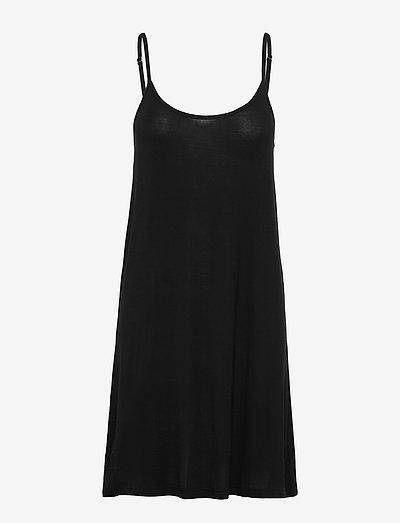 Bamboo - Basic Slip - bodies & onderjurken - black