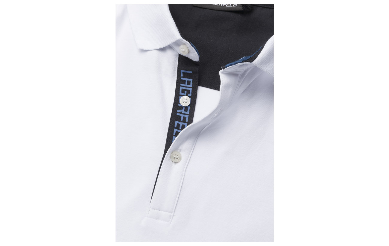 Sleeve 650 Short Lagerfeld Polo blue wZncqTWUX