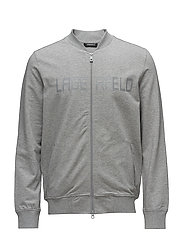 FORMAL SWEATJACKET - 901-LIGHT GREY