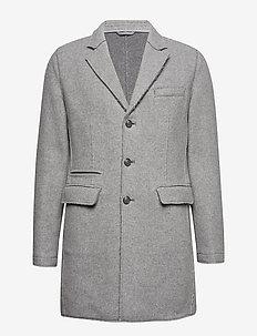 COAT - wełniane płaszcze - 940-dark grey