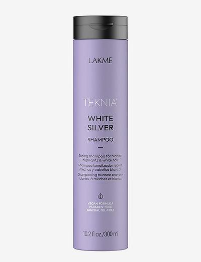 WHITE SILVER SH 300 ML - shampoo - clear