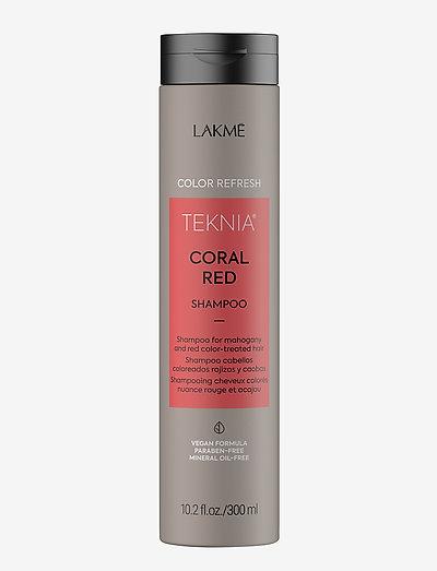 REFRESH CORAL RED SH 300 ML - shampoo - clear