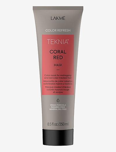 REFRESH CORAL RED MASK 250 ML - hårmasker - clear