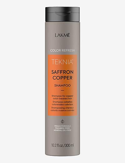 REFRESH SAFFRON COPPER SH 300 ML - shampoo - clear