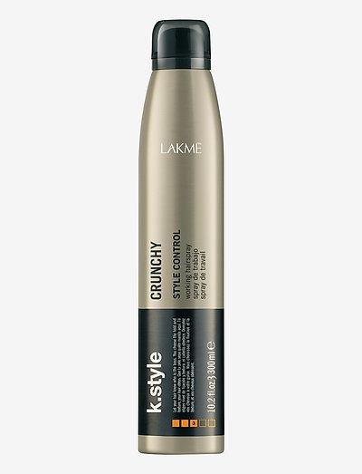 CRUNCHY WORKING SPRAY 300 ML - hårspray - clear