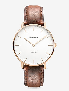 Classico 40 Leather Rosegold White Brown - WHITE