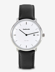Volta 39 Leather Silver White Black - WHITE