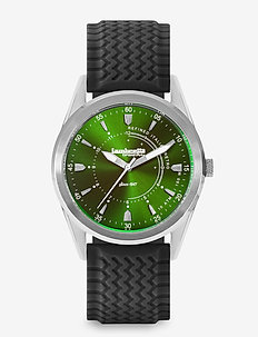Marco 40 Rubber Silver Green Black - GREEN