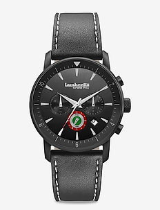 Imola 44 Target Leather Black - BLACK