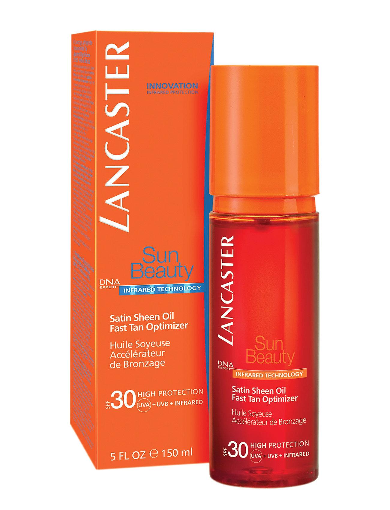 Image of Sun Care Tan Maximizer Fast Tan Satin Sheen Oil Spf30 Beauty MEN Skin Care Sun Products Body Nude Lancaster (3052594897)