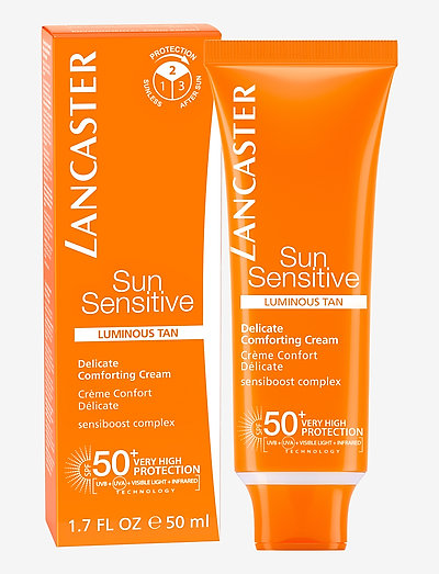 SUN SENSITIVE FACE COMFORTING CREAM SPF50 - ansikt - no color