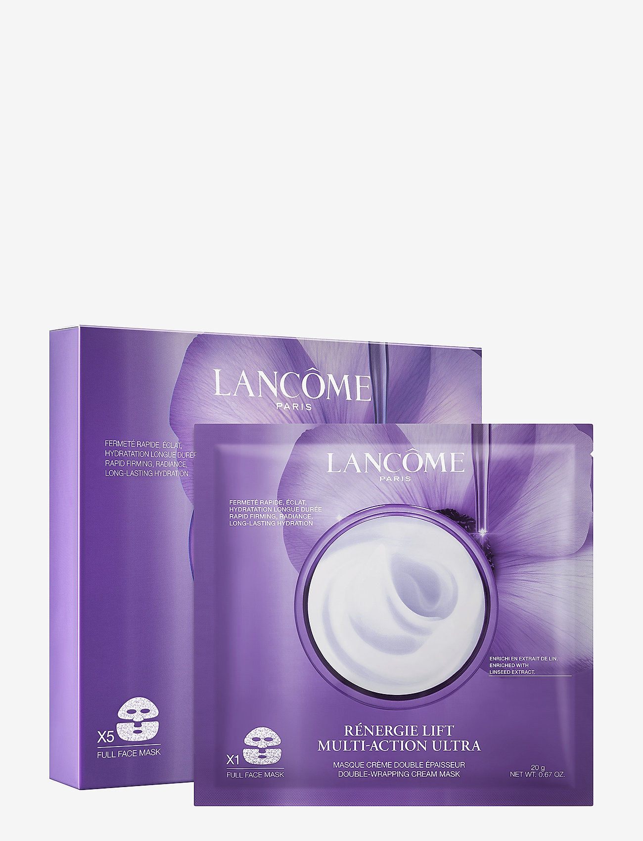 Lancôme - Lancôme Rénergie Lift Multi-Action Ultra Cream Mask - sheet mask - clear - 1