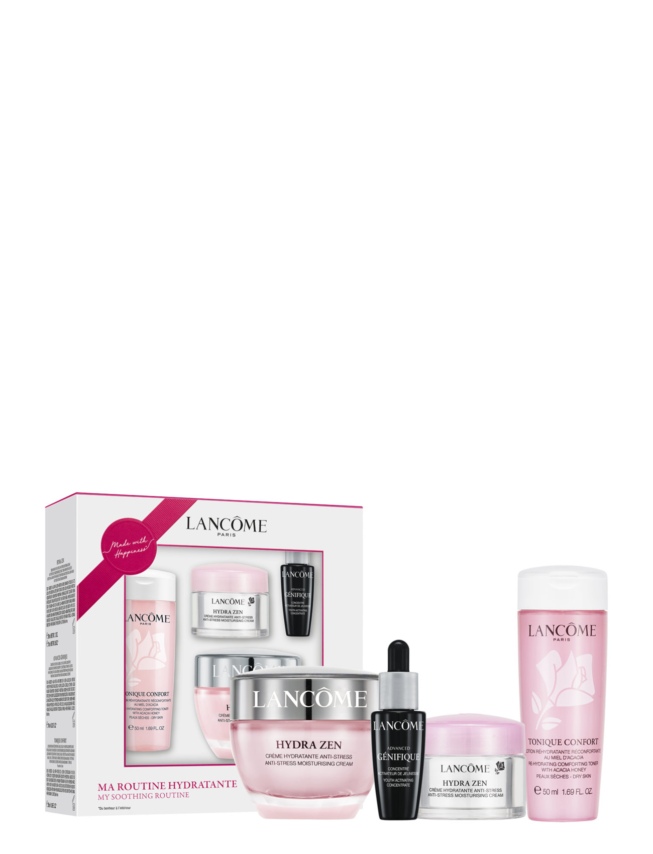 Hydra Zen Cream Skincare Set Os Hudplejesæt Lancôme