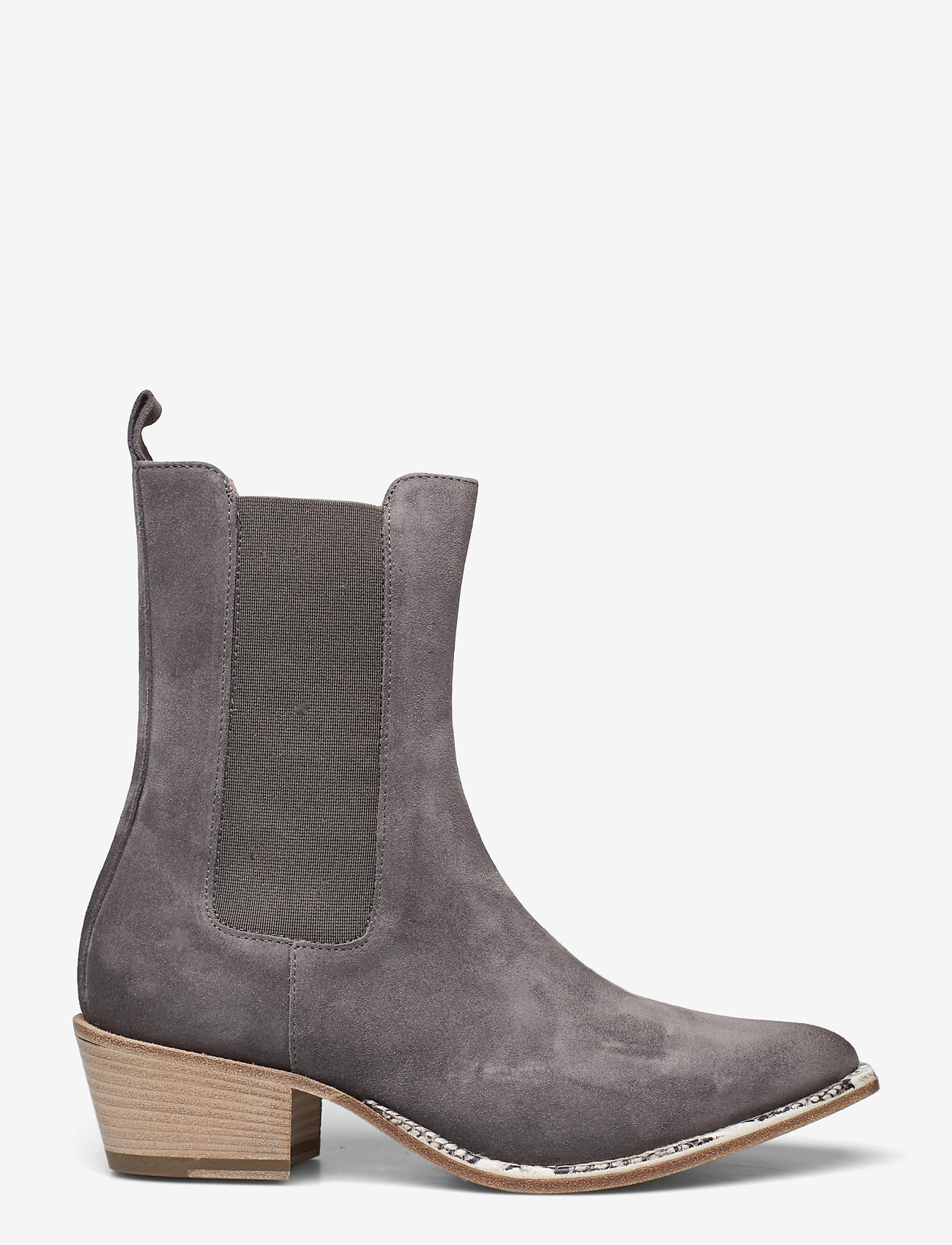 Laura Bellariva - Ankle Boots - stiefeletten mit absatz - grey - 1