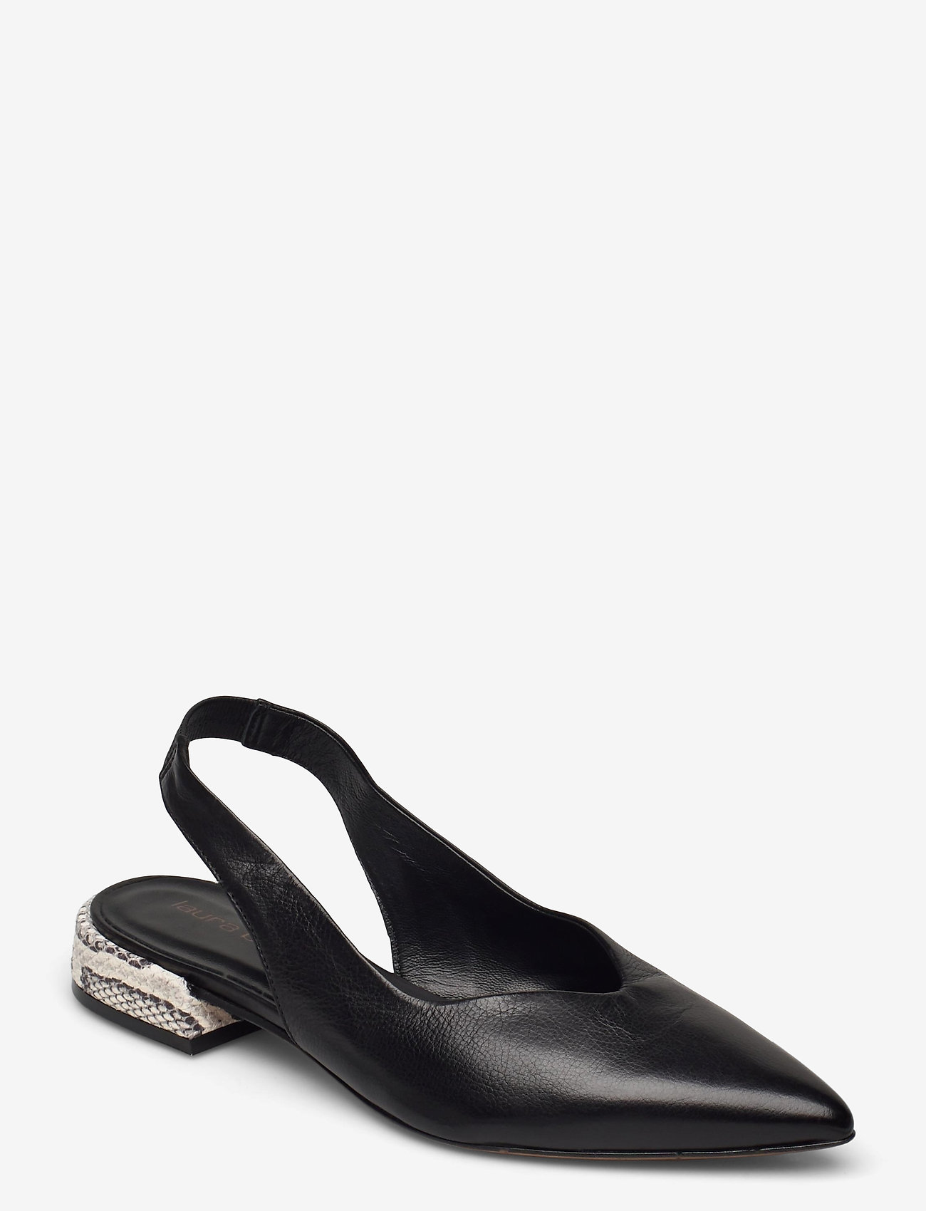 Laura Bellariva - Flats - ballerinas - nero/roccia - 0