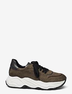 Sneakeras - chunky sneakers - army/militare/gunmetal