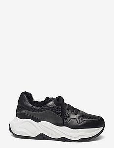Sneakeras - chunky sneakers - nero/akoya nero/nero