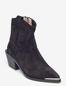 Ankle Boots - stiefeletten mit absatz - nero