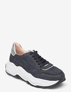 Sneakers - chunky sneaker - nero/nero/silver