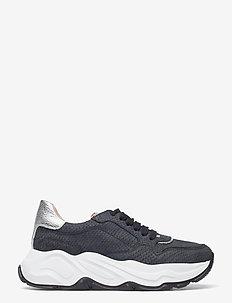 Sneakers - chunky sneakers - nero/nero/silver