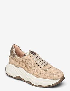 Sneakers - chunky sneaker - beige/oasi/gold