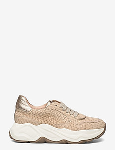 Sneakers - chunky sneakers - beige/oasi/gold