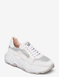 Sneakers - chunky sneaker - bianco/camelia/silver