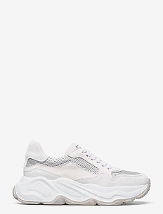 Sneakers - chunky sneakers - bianco/camelia/silver
