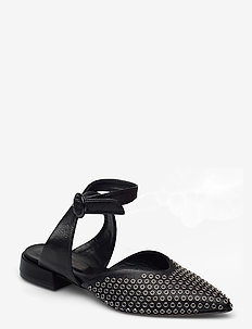 Flats - mules & slipins - nero