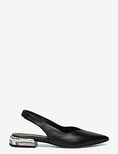 Flats - ballerinas - nero/roccia
