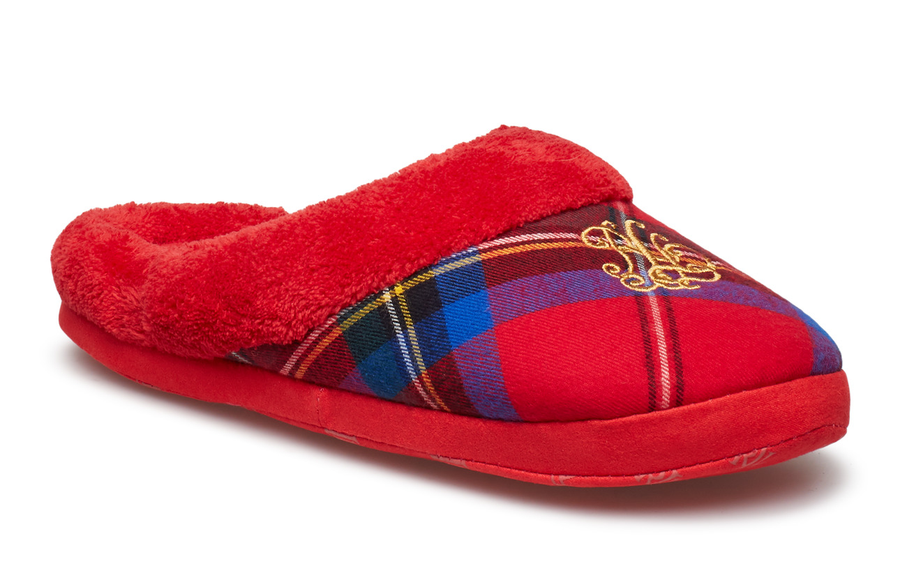 Lauren Ralph Lauren Homewear LRL SLIPPERS - RED
