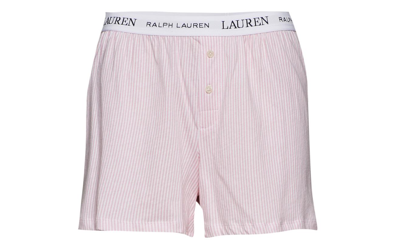 Pink Ralph Pale Essentials Lrl Boxer Jersey Lauren Coton Stripe Homewear Logo Soft 100 Hx1qFdzdw
