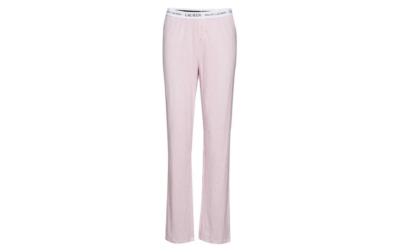 100 Lauren Homewear Pink Pants Logo Pale Essentials Stripe Jersey Coton Ralph Lrl Soft PS4qrPFw