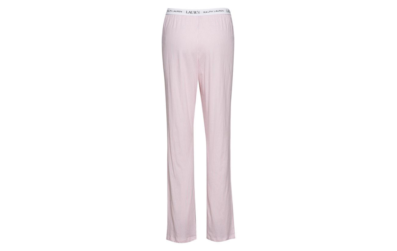 Pink Soft Pale Lauren Pants Stripe Jersey Homewear Coton Logo Ralph Essentials Lrl 100 pxHwFxzgq